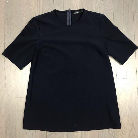 739de02c662b85 Zara Woman Short Sleeve A Line Blouse Top Shirt. M 5bda502abaebf69a08e0a8eb